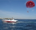 Parasailing in Albufeira with Sunsation