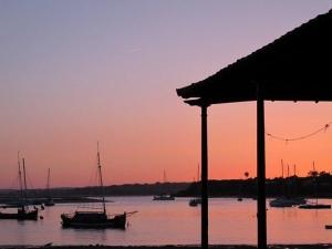 Sunset, Ria de Alvor, Algarve