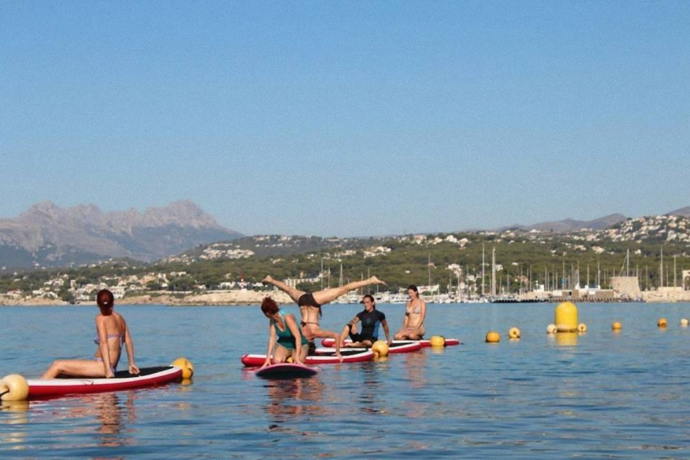 Yoga & Stand Up Paddle breaks in Denia, Alicante
