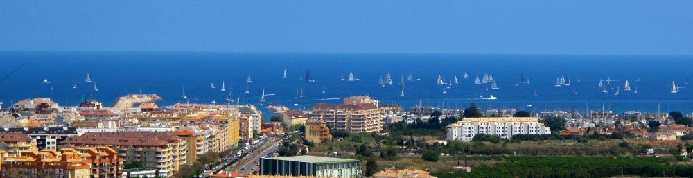 Salt Race between Denia and Ibiza in Spain