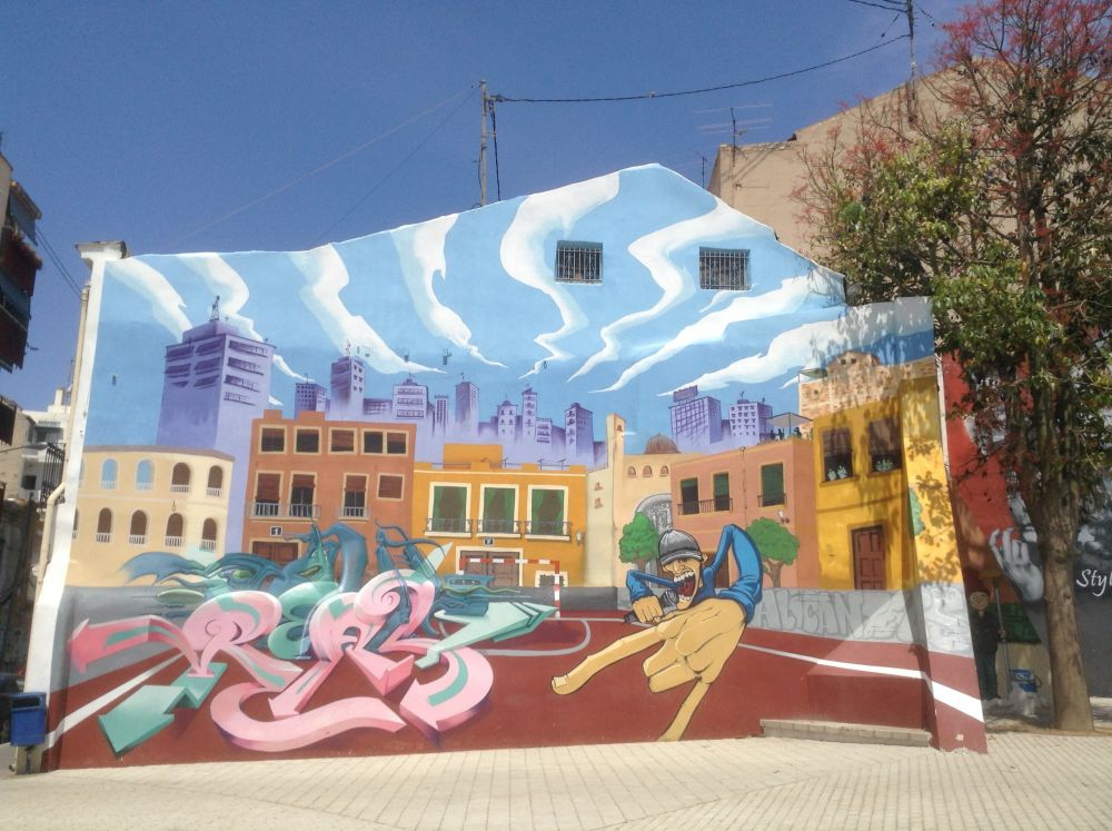 Turning buildings into works of art in Alicante