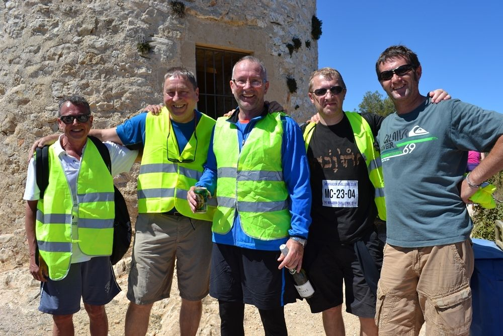 All smiles for the Mirador challenge, Javea