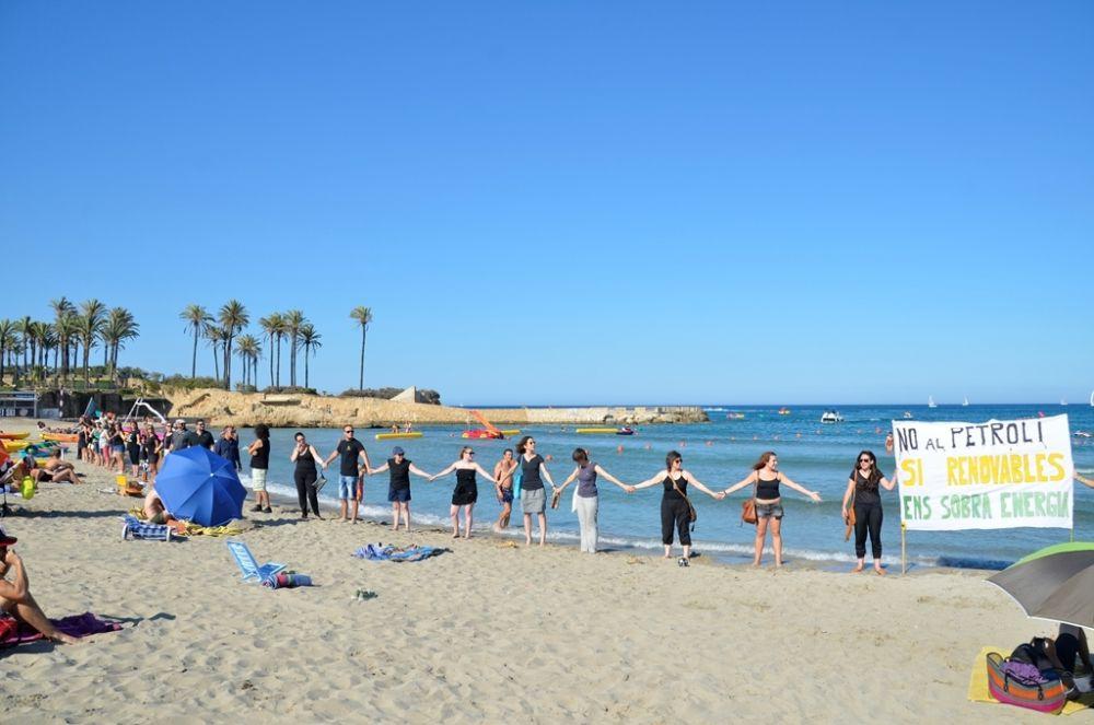 Demonstration on Javea beach