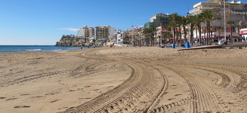Visitors to Benidorm enjoy wall to wall sunshine