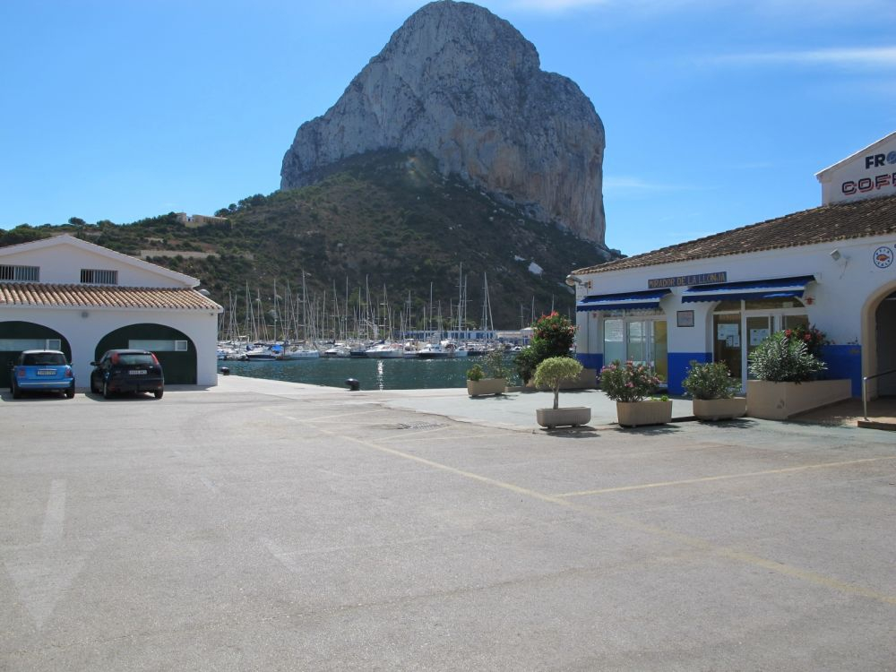 Ifach rock in Calpe, Alicante
