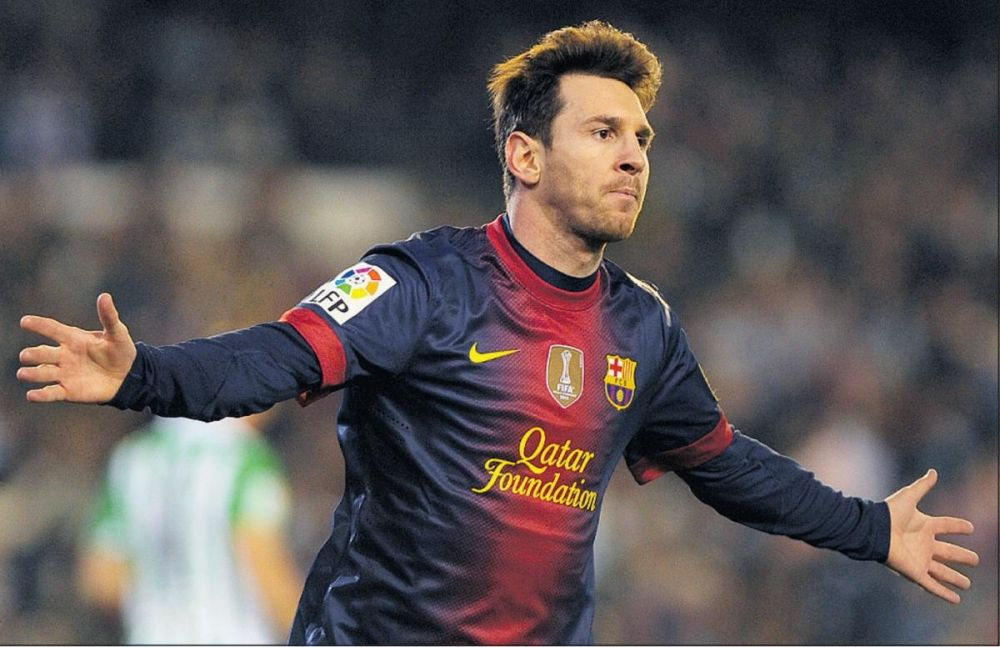 Superstar Lionel Messi played for Barca B