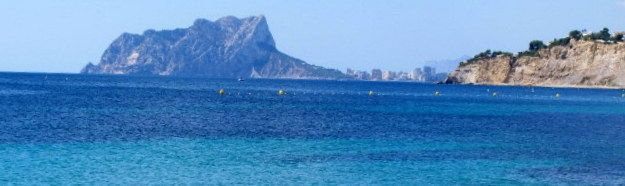 View from Moraira beach