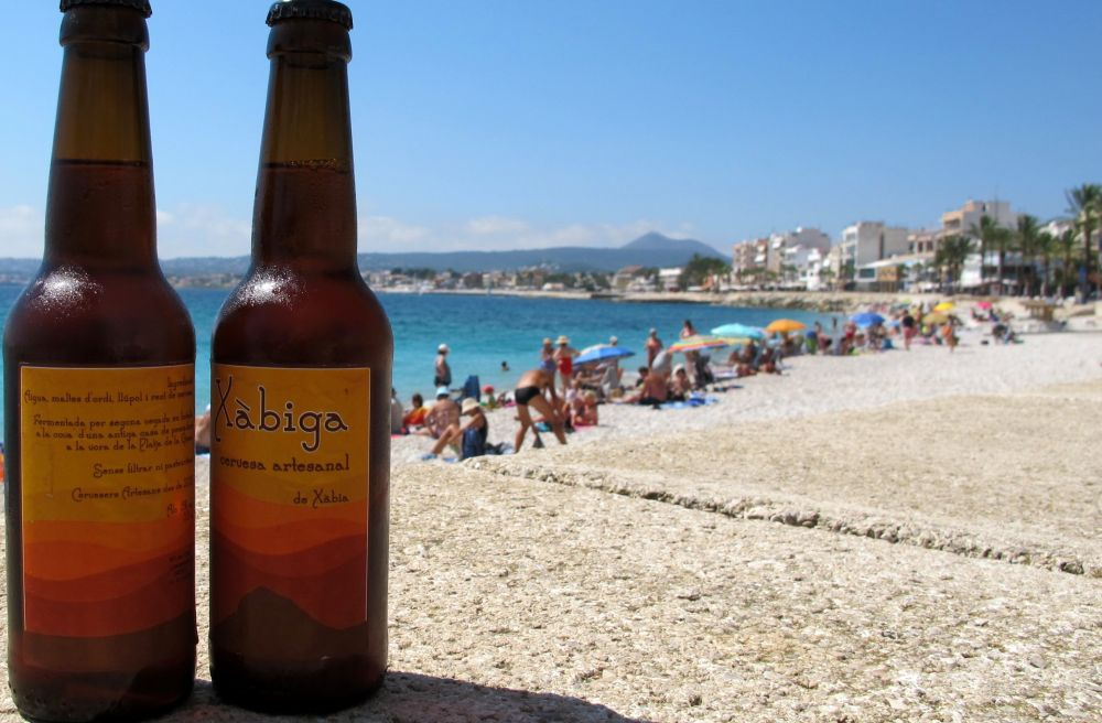 Xabiga craft ale brewed in Javea