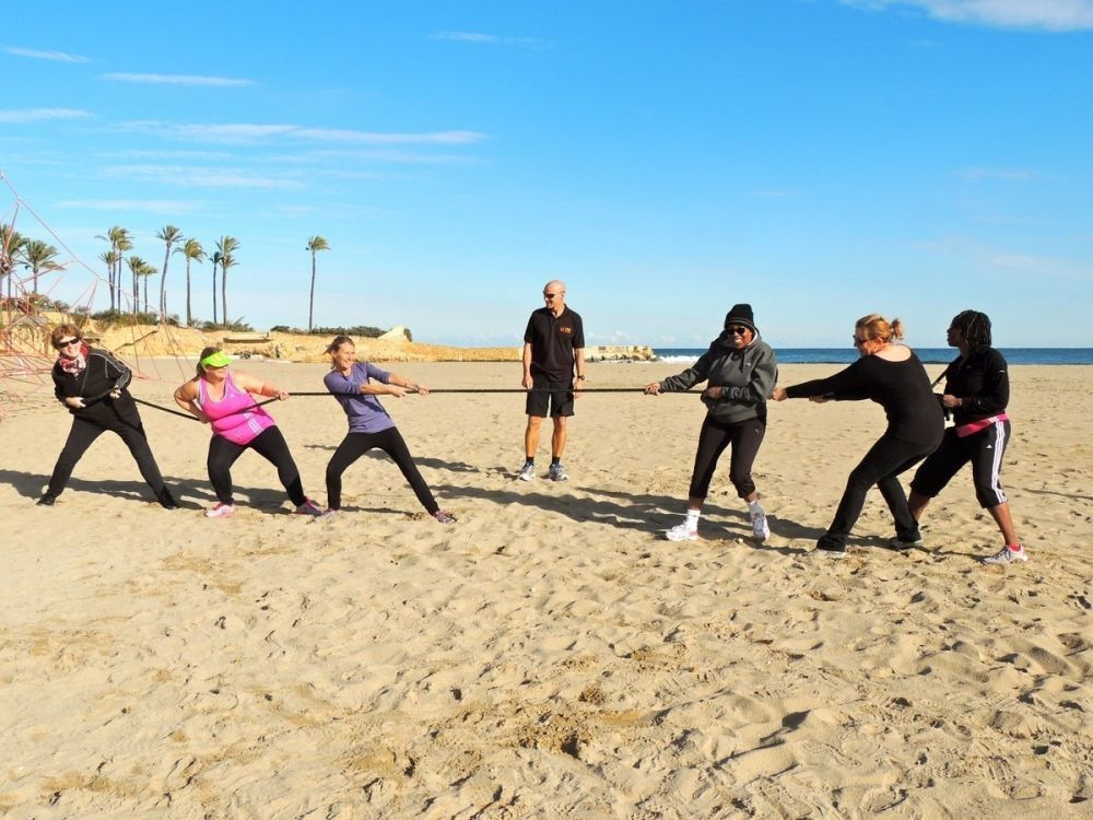 Keeping fit with La Vida Boot Camp in Javea