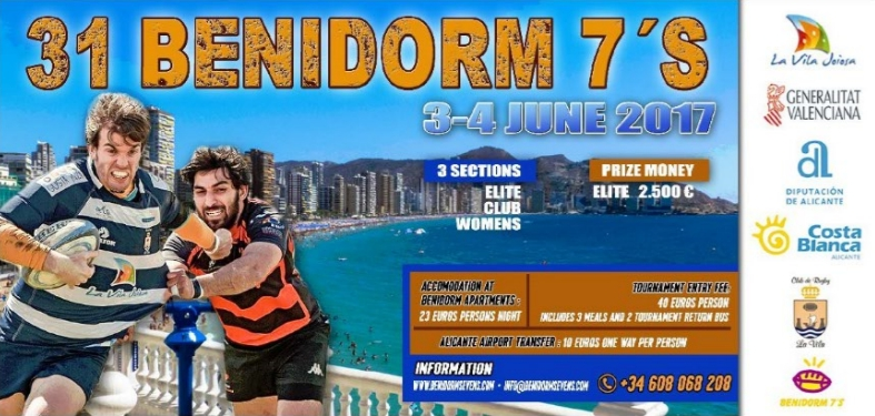 31st Benidorm 7s - rugby tournament