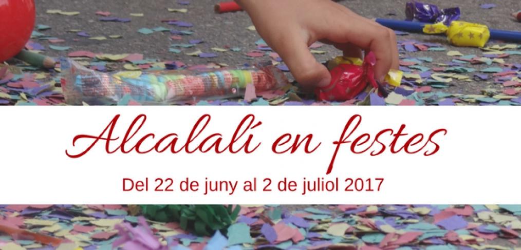 Alcalali Fiesta in honour of San Juan