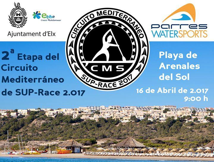 Circuito Mediterraneo de Sup Race 16 Abril Arenales del Sol