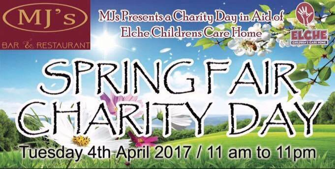 Elches children's home charity event