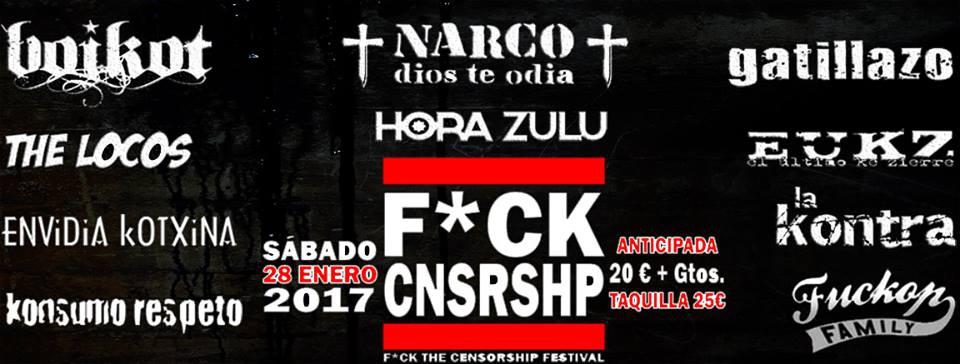 Fck Cnsrshp Fest