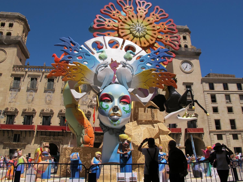 Hogueras de San Juan in Alicante