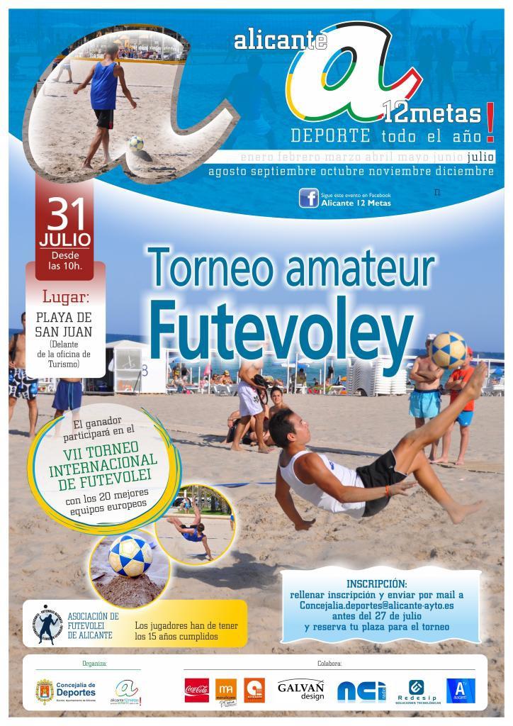 IV Amateur Footvolley Tournament