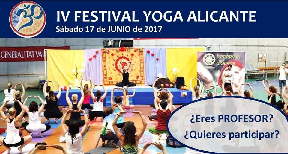 IV Festival of Yoga Alicante