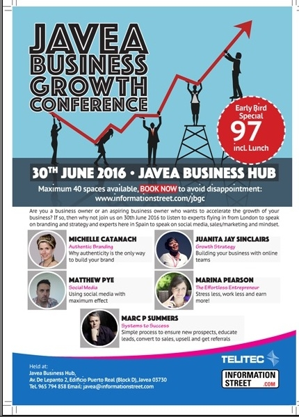 Javea Business Growth Conference