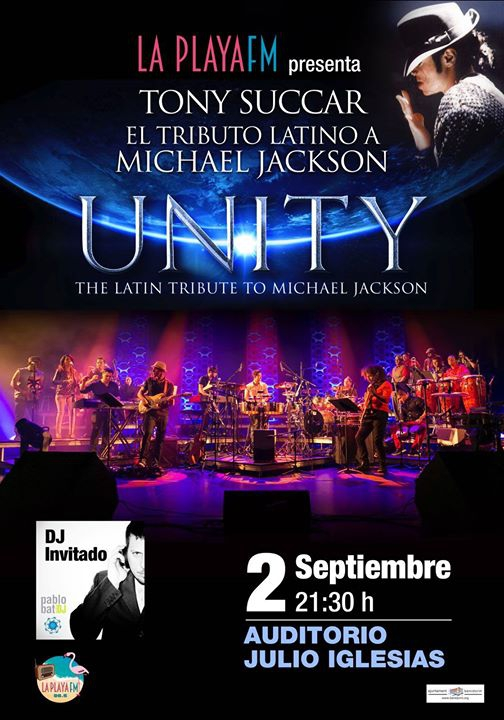 Unity The Latin Tribute en Benidorm, Esp. !