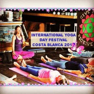 2017 International Yoga Day Festival - Costa Blanca