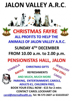 Christmas Fair for ARC Animal Charity