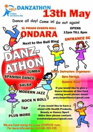 Danzathon in Ondara