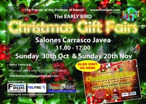 Early Bird Christmas Gift Fair