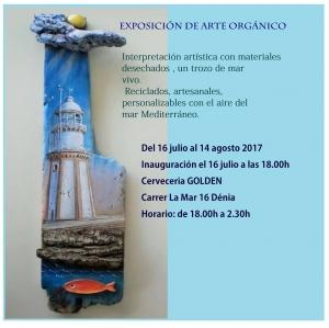 Exhibition of Organic Art in Denia