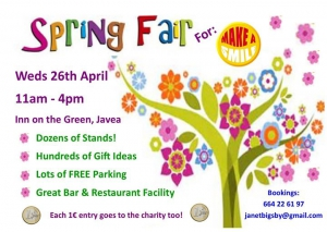 Inn on the Green Spring Fair for Make A Smile