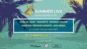 Los 40 Summer Live 2017 en El Campello