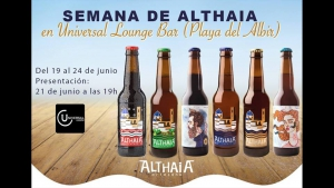 Week of Althaia Craft Beers & Universal Lounge Bar