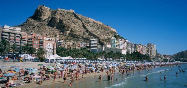 Испания аликанте пляж