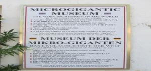 Microgigantic Museum in Guadalest