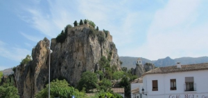 First views of Guadalest