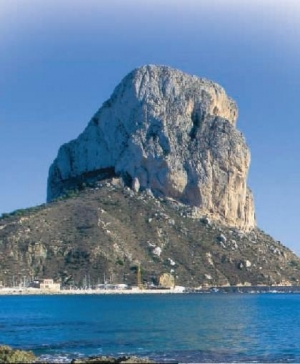 Calpe's imposing Ifach Rock