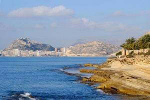 Costa Blanca's impressive coastline