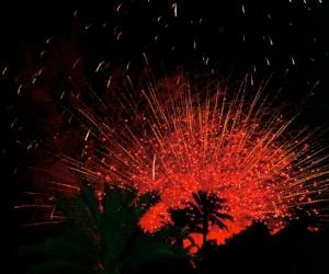 Fabulous fireworks in Altea