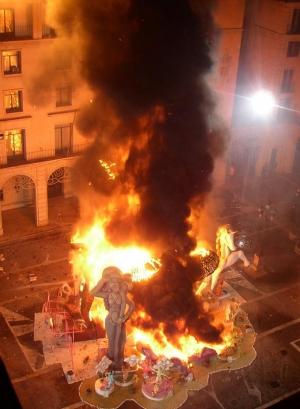 Fiery end to the fallas fiesta