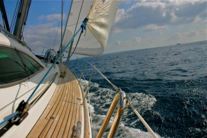 Sailing is a favourite pastime