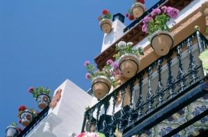 Santa Cruz district in Alicante