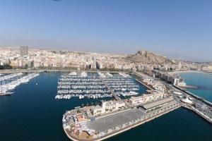 View over Alicante Marina