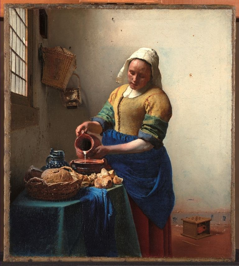 The Kitchen Maid - Johannes Vermeer