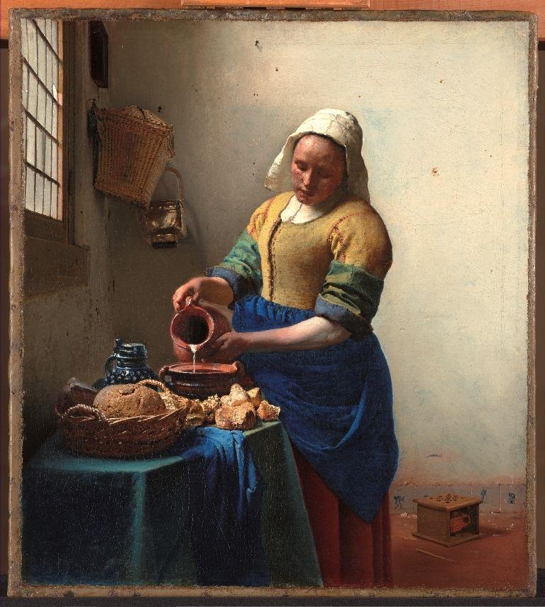 The Kitchen Maid - Johannes Vermeer