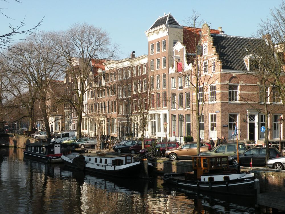 Canal Houses in the Jordaan