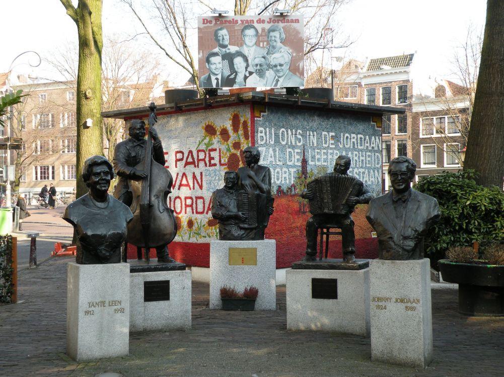 Famous Amsterdam Musicians in the Jordaan Neighbourhood