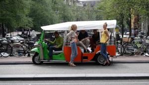 Amsterdam Tuk Tuk