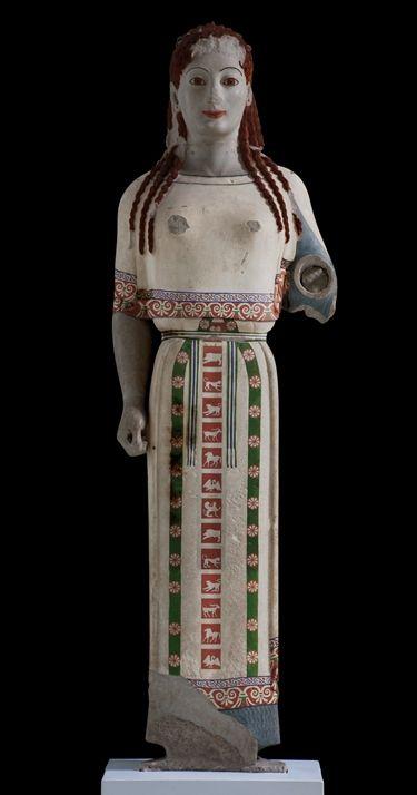 Peplos Kore, possibly Artemis