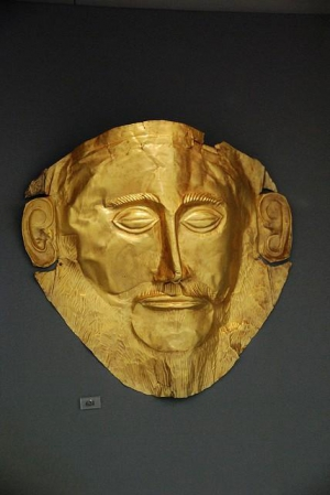 Mycenaen Death Mask,National Archaeological Museum
