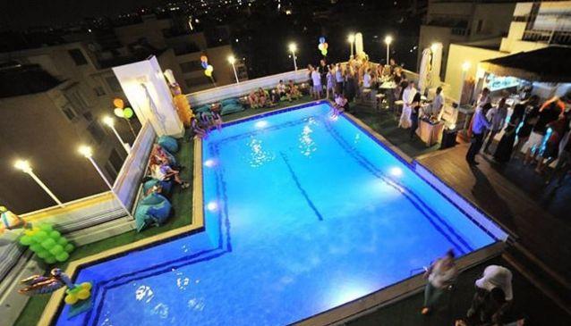 Sky Bar at Athens Poseidon Hotel