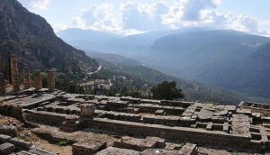The Sanctuary of Delphi